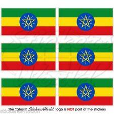 ÄTHIOPIEN Flagge ÄTHIOPISCHE Afrika Fahne Handy Mini-Aufkleber, Sticker 40mm x6