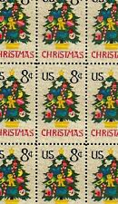 1973 - NEEDLEPOINT CHRISTMAS TREE - #1508 Mint -MNH- Sheet of 50 Postage Stamps