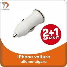 3 x iPhone 5 5S 5C 4S 3G Chargeur Charger USB Voiture allume-cigare Auto Oplader