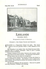 1934 School Leelands Walmer Hill Westerliam Miss D Belshaw