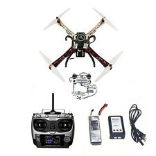Montado 450 Kit RTF 4-Aix con APM 2.8 FC GPS Brújula Cardán Full Kit GPS Drone