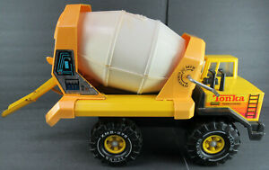 TONKA MIGHTY DIESEL CEMENT MIXER TRUCK- COMPLETE