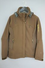 9ae058971d XII683 Women Salomon Stretch Skiing Snowboarding Waterproof Jacket Size M  UK12