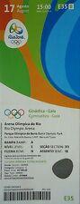 Ticket 17.8.2016 Olympic Rio Gymnastics Gala # e35