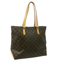 LOUIS VUITTON CABAS MEZZO SHOULDER TOTE BAG PURSE MONOGRAM AR0064 M51151 39397