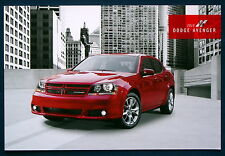 Prospekt brochure 2013 Dodge Avenger (USA)