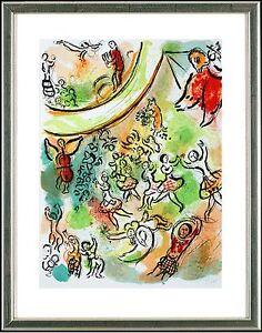 Marc Chagall (1887-1985), Original-Lithographie, Pariser Oper, 1965