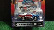 Muscle Machines 68 Dodge Hemi Dart Stars & Stripes 1:64  Diecast 1968  GS02-12