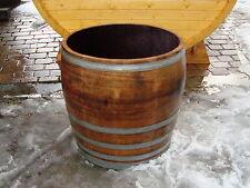 Regentonne Wasserfaß  ca. 200L Holzfaß gebrauchtes Weinfaß Eichenfaß Pflanzkübel