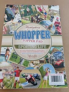 Hunkydory Topper Pad Sporting Life, part used, foiled & die cut