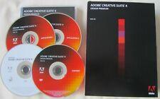 Creative Suite 4 Design Premium CS4 Full Retail Mac, Dreamweaver Photoshop +