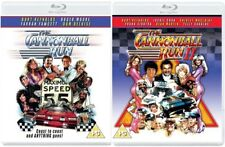 The Cannonball Run + The Cannonball Run 2 Blu-ray Region B New 1 + 2