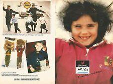 X0586 Stefanel Kids l'amore addosso - Pubblicità del 1989 - Vintage advertising