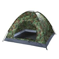 New listing 3-4 Person Portable Camping Hiking Climbing Dome Tent Camouflage