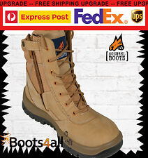 Mongrel SP Zipsiders Wheat HighLeg Boot 11 Au/uk