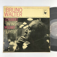 Bruno Walter Franz Schubert/Mozart - Symphony No. 8 & 41 - ML 4880 LP CLASSICAL