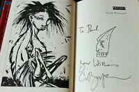 Sandman Book of Dreams SIGNED Clive Barker Illustration Kiernan Collins Kramer