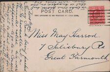 May Harrod. 7 Salisbury Road, Great Yarmouth.   RN.81