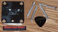 Fender Telecaster Neck Plate Corona American Pro Chrome Guitar Parts Project USA