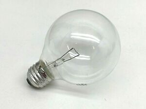 (12-Pack) Philips 40G25/CL/LL 40W Clear Globe Vanity Lamp Light Bulb Clear G25