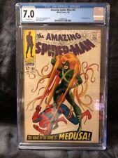 Amazing Spider-Man #62 CGC 7.0 Inhumans
