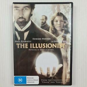The Illusionist DVD - Paul Giamatti, Jessica Biel, Edward Norton R4 TRACKED POST