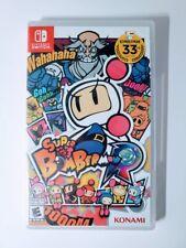 Super Bomberman R Nintendo Switch Video Game Konami Bomberman 33rd Ed New Sealed