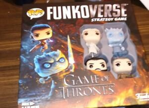 Funko Pop Funkoverse Strategy Game: Game of Thrones™ New