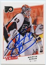 MARTIN BIRON FLYERS AUTOGRAPH AUTO 08-09 UPPER DECK VICTORY #54 *44232