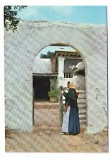 Old Postcard - Ibiza (Baleares) Espana Campesina y casa tipica - Posted 0419