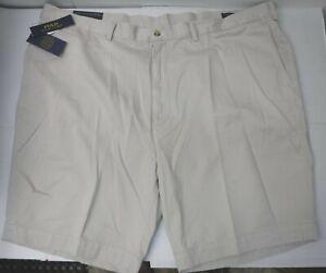 Polo Ralph Lauren Size 50 B Classic Fit Khaki New Mens Shorts