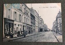 CPA. IVRY. 94 - Rue du Parc. 1906. Papeterie. Jouets. Peinture Vitrerie.