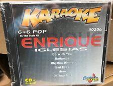 CHARTBUSTER 6+6 KARAOKE DISC 40206 ENRIQUE IGLESIAS CD+G POP MULTIPLEX SEALED