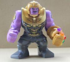 Marvel Super Heroes final juego Thanos 3.5 Pulgadas Mini Figura Los Vengadores Fit LEGO C