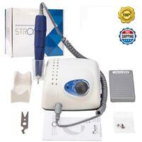 Salon-Grade Electric Nail Drill Manicure Machine Strong Motor 65W 35000RPM 105L