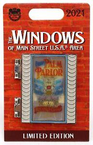 New Disney Parks Windows Of Main Street Haunted Mansion Madame Leota Pin LE 3000