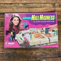 Vintage 1989 Mall Madness Board Game Milton Bradley - Game Complete