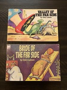 """""""Valley Of"""" and """"Bride Of"""" THE FAR SIDE Comic Books (LOT OF 2)"""