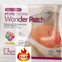 30 Days 10Pcs Mymi Wonder Patch Quick Slimming Patch Belly Slim Patch Abdomen
