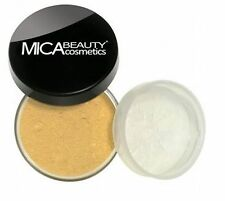 MICA bEAUTY (MICABELLA) MINERAL FOUNDATION 9 GR PICK YOUR COLOR +MAKEUP BRUSH