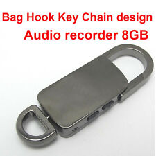 8GB spy voice activate USB flash audio voice recorder hidden recorder hook
