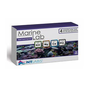 NT Marine Lab REEF Multi-test Kit - KG Mg Ca PO4 Fish Tank Aquarium