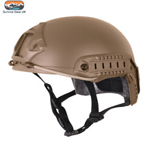 VIPER TACTICAL FAST HELMET AIRSOFT SPECIAL OPS ARMY MILITARY PAINTBALL COYOTE