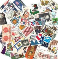 United States Stamps 150 Different Used Stamps OFF PAPER