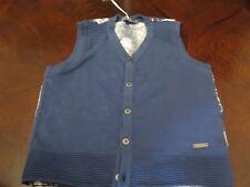 PomPomme Boy's Vest 1026Mb/Wh 6 Years - PomPom