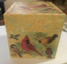 Bob's Boxes Bird Decor 8x8x8 Box - Lang Card Company