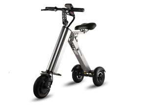 2020 Electric Scooter Mini Tricycle with Light Weight 13KG Speed 20KM/H