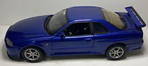 1:18 Nissan Skyline GT-R 1:18 Motor Max Japanese Drift Car