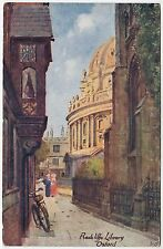 OXFORD - Radcliffe Library - by Ruddock of Lincoln - c1900s era postcard