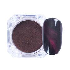 3D Cat Eye Magnet Nail Glitter Powder Dust Magic UV Gel Chrome Pigment 1# Decor